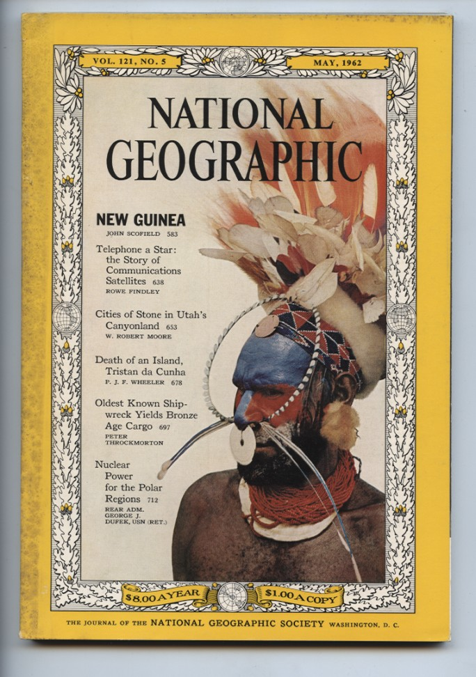 National Geographic Magazine May 1962