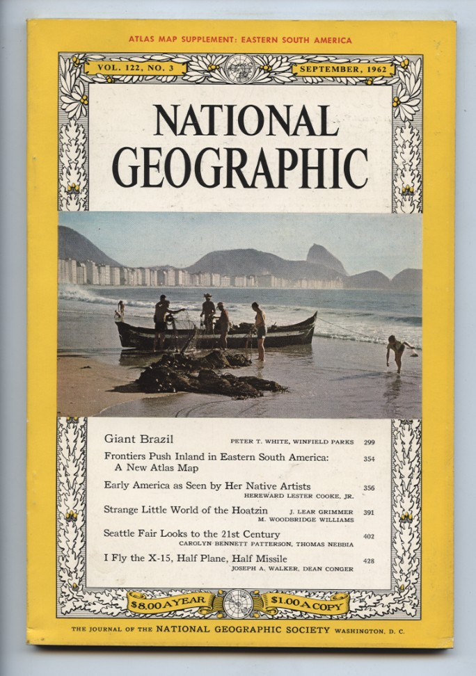 National Geographic Magazine September 1962