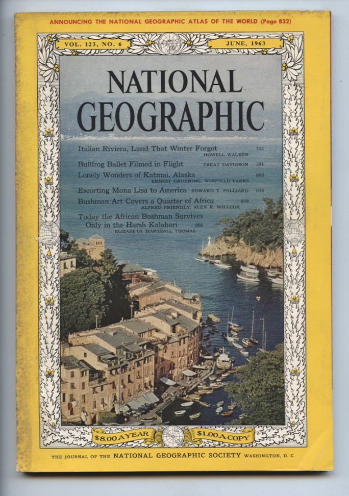 National Geographic Magazine June 1963