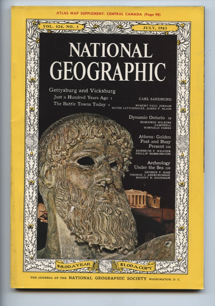 National Geographic Magazine July 1963