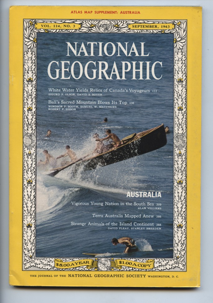 National Geographic Magazine September 1963