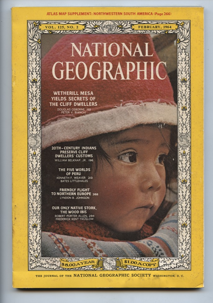 National Geographic Magazine February 1964