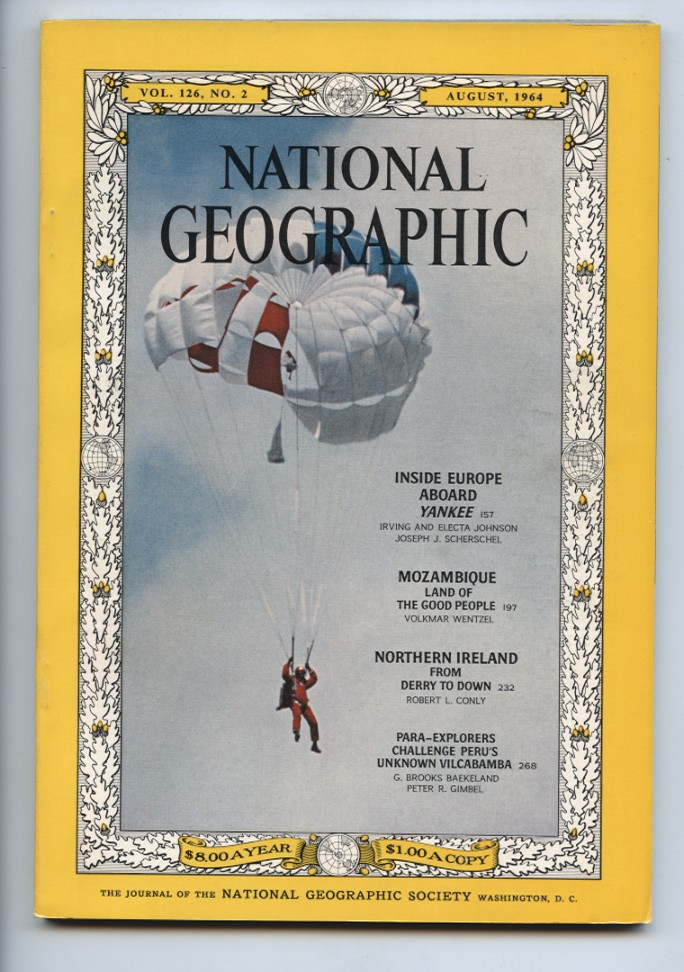 National Geographic Magazine August 1964
