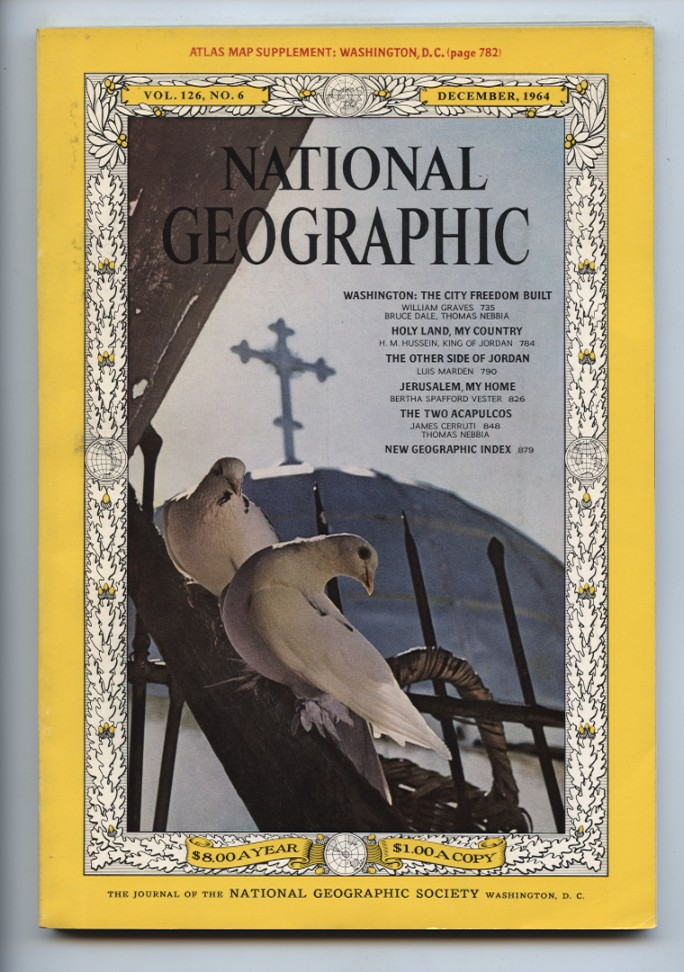 National Geographic Magazine December 1964