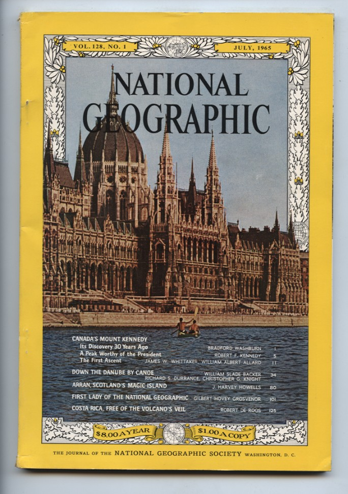 National Geographic Magazine July 1965