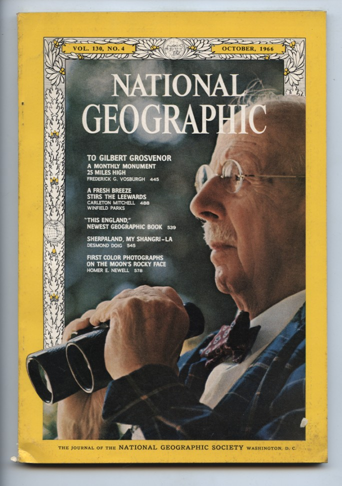National Geographic Magazine October 1966