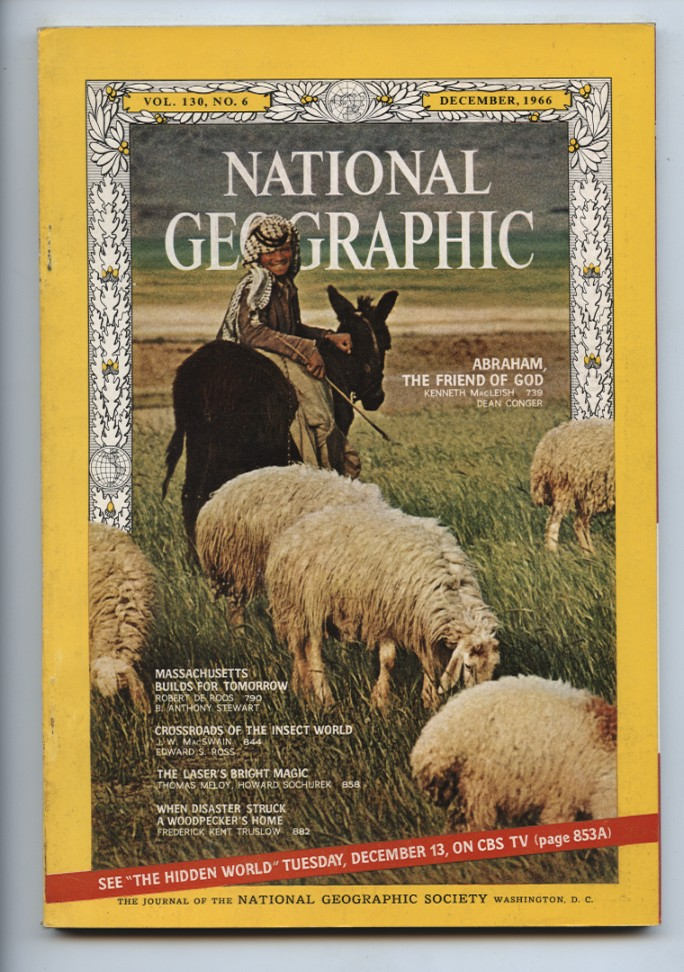 National Geographic Magazine December 1966
