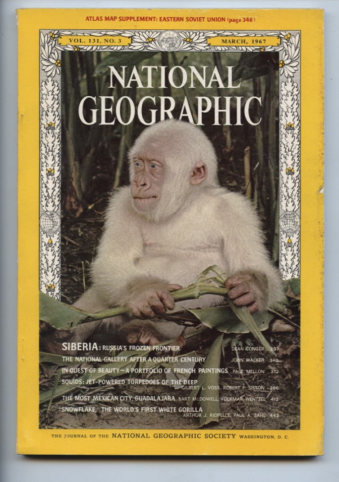National Geographic Magazine March 1967
