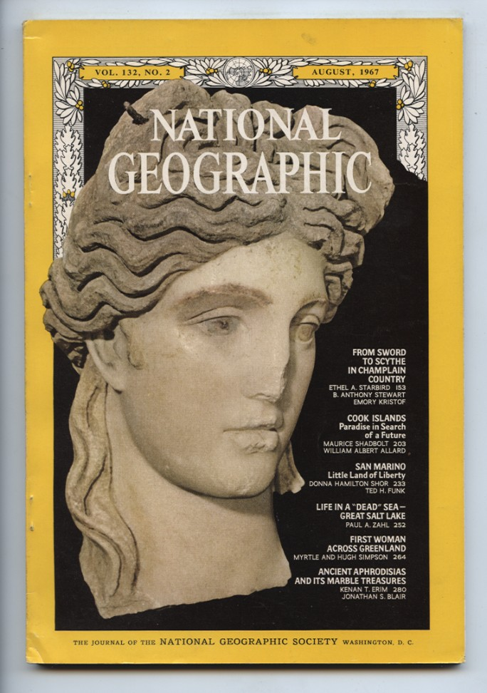 National Geographic Magazine August 1967