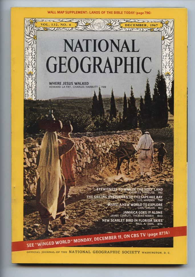 National Geographic Magazine December 1967