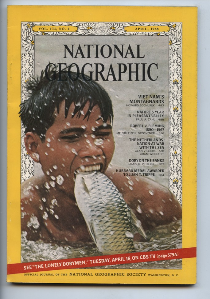 National Geographic Magazine April 1968