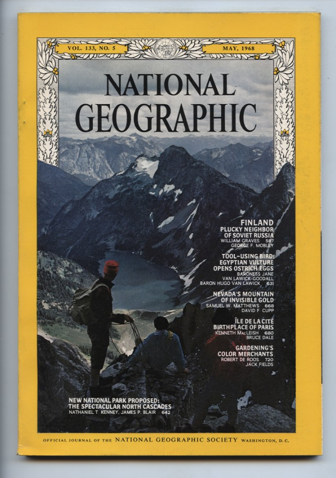 National Geographic Magazine May 1968