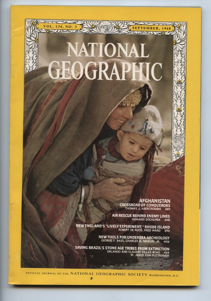 National Geographic Magazine September 1968