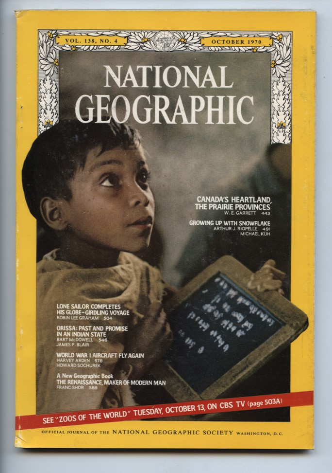 National Geographic Magazine October 1970