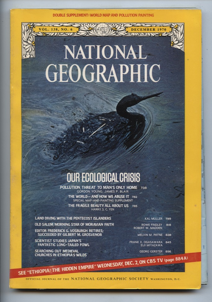 National Geographic Magazine December 1970