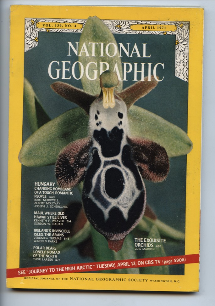 National Geographic Magazine April 1971