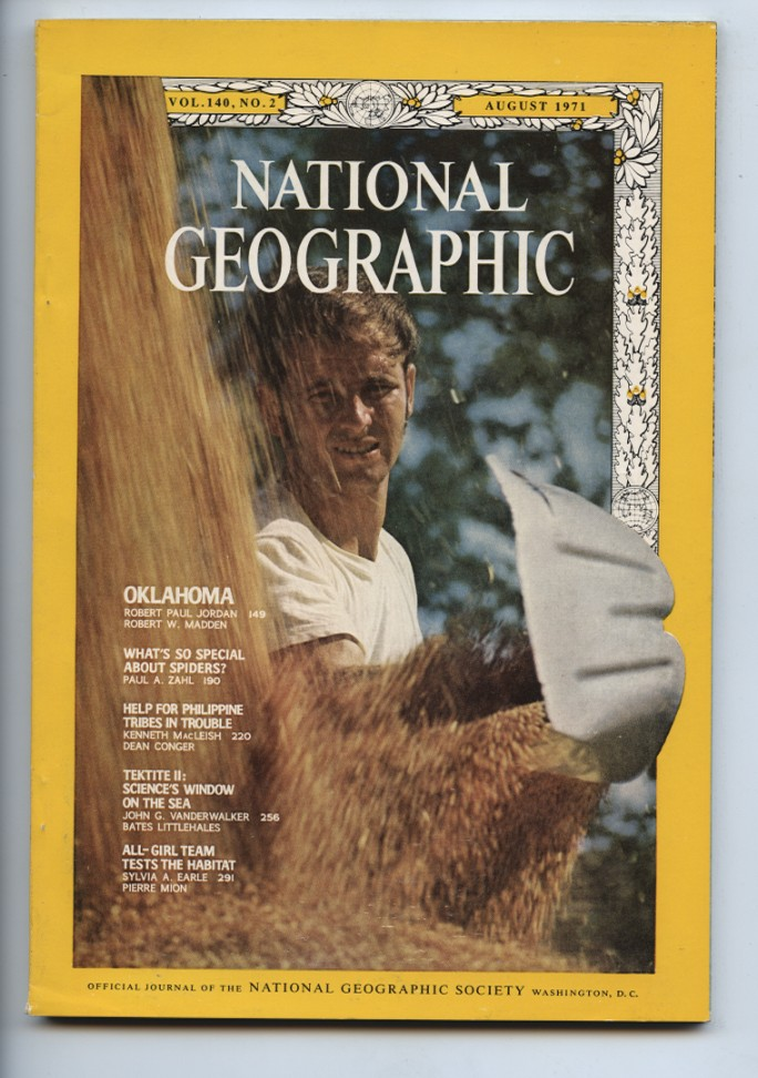 National Geographic Magazine August 1971