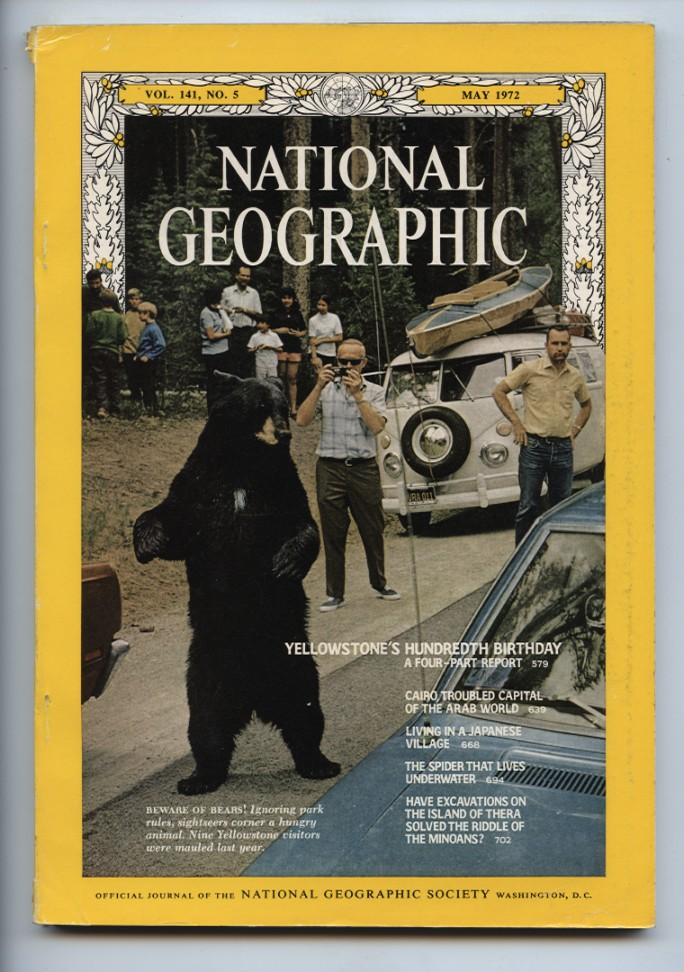 National Geographic Magazine May 1972