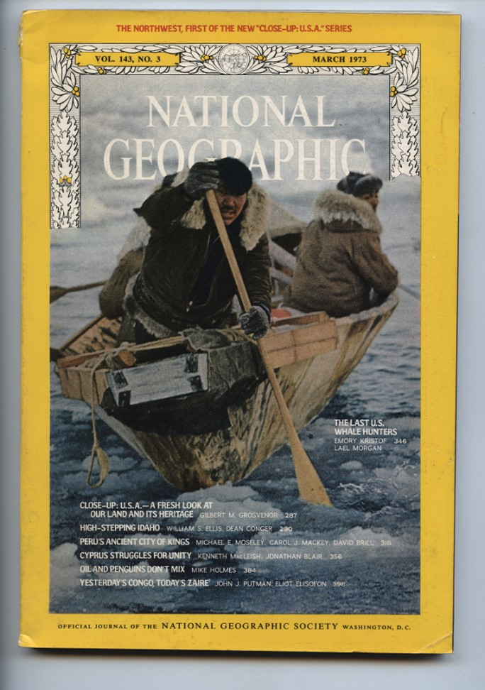 National Geographic Magazine March 1973