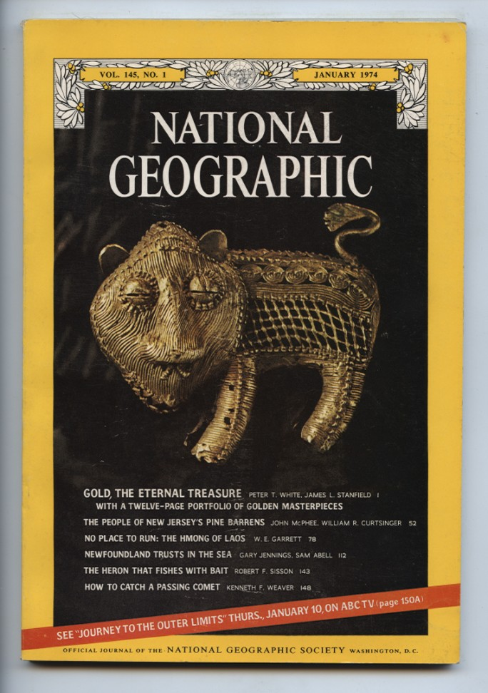 National Geographic Magazine January 1974