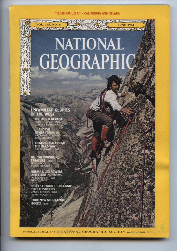 National Geographic Magazine June 1974