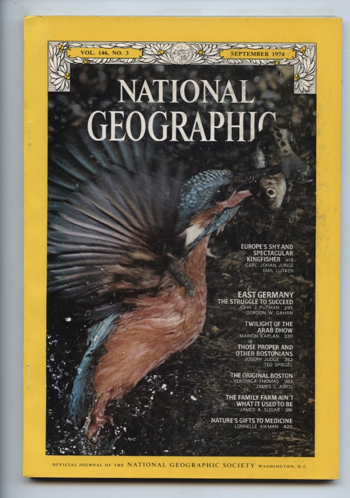 National Geographic Magazine September 1974