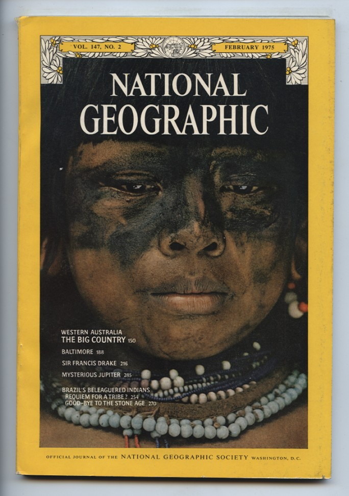 National Geographic Magazine February 1975
