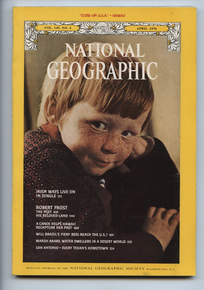 National Geographic Magazine April 1976