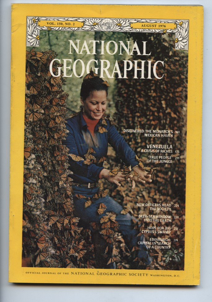 National Geographic Magazine August 1976