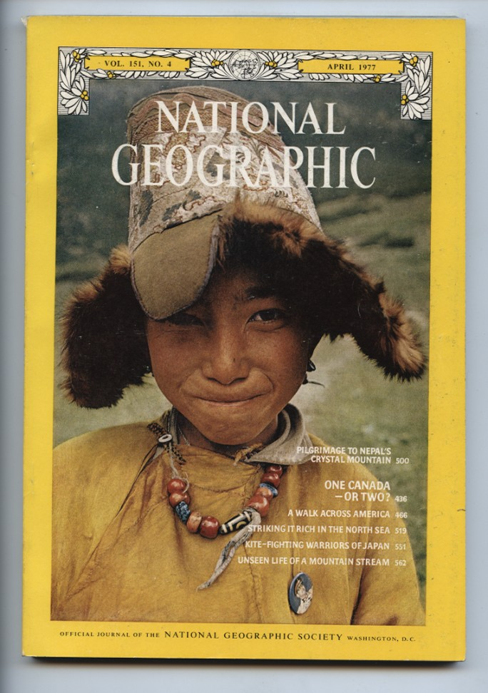 National Geographic Magazine April 1977