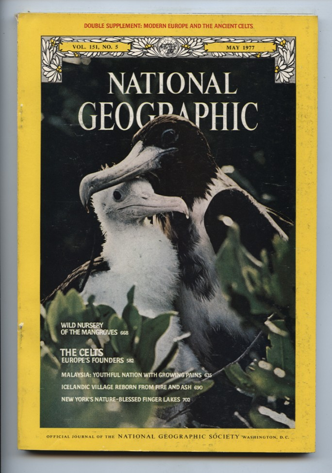 National Geographic Magazine May 1977