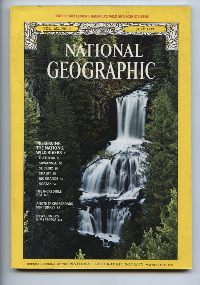 National Geographic Magazine July 1977