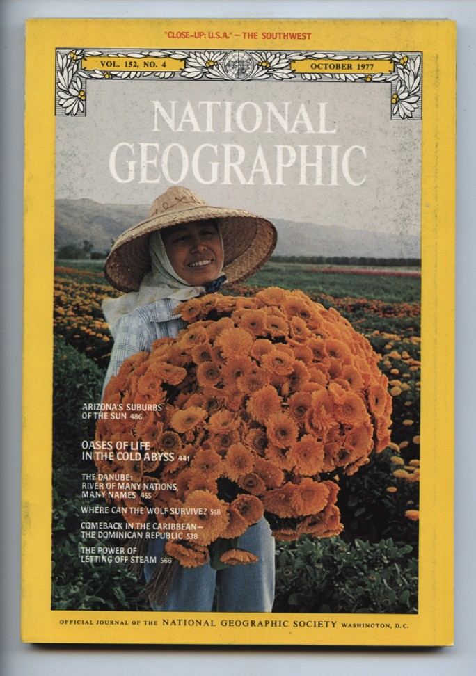 National Geographic Magazine October 1977