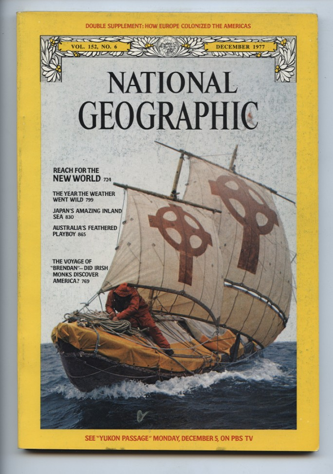 National Geographic Magazine December 1977