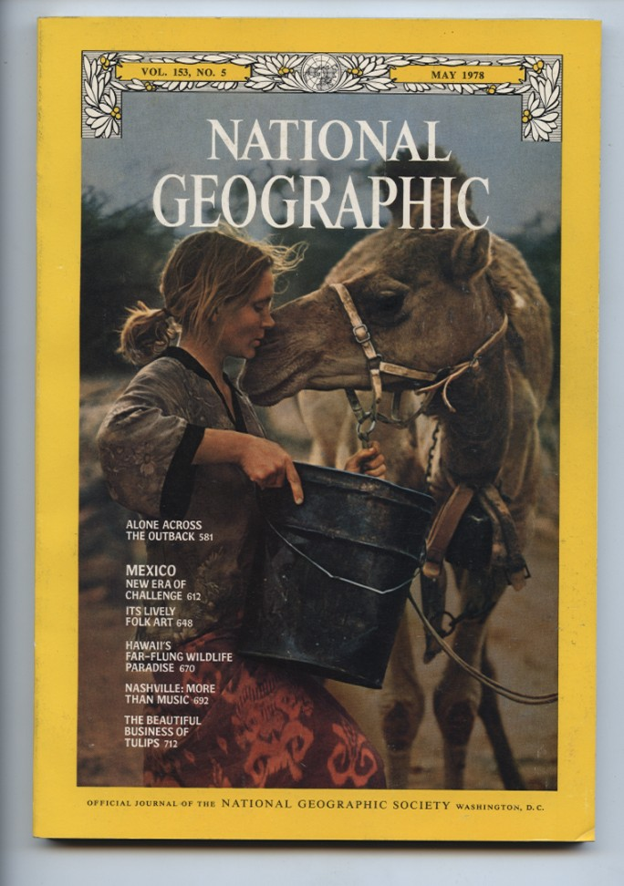 National Geographic Magazine May 1978