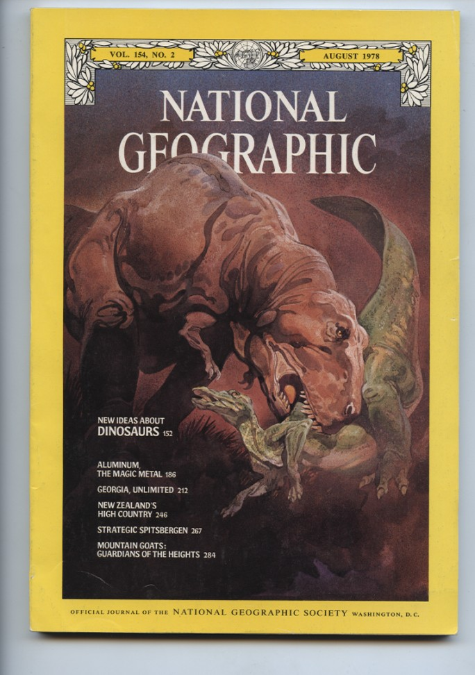 National Geographic Magazine August 1978