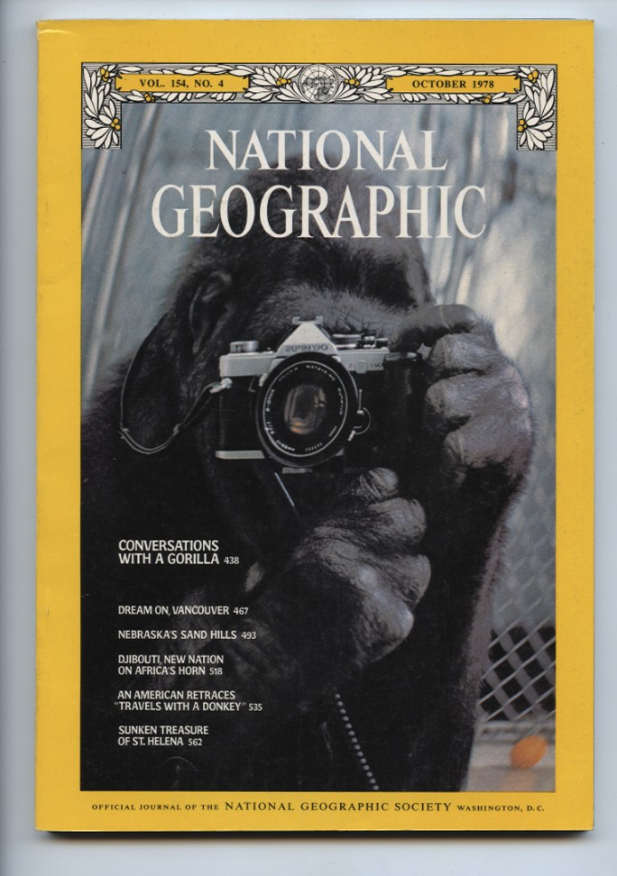 National Geographic Magazine October 1978