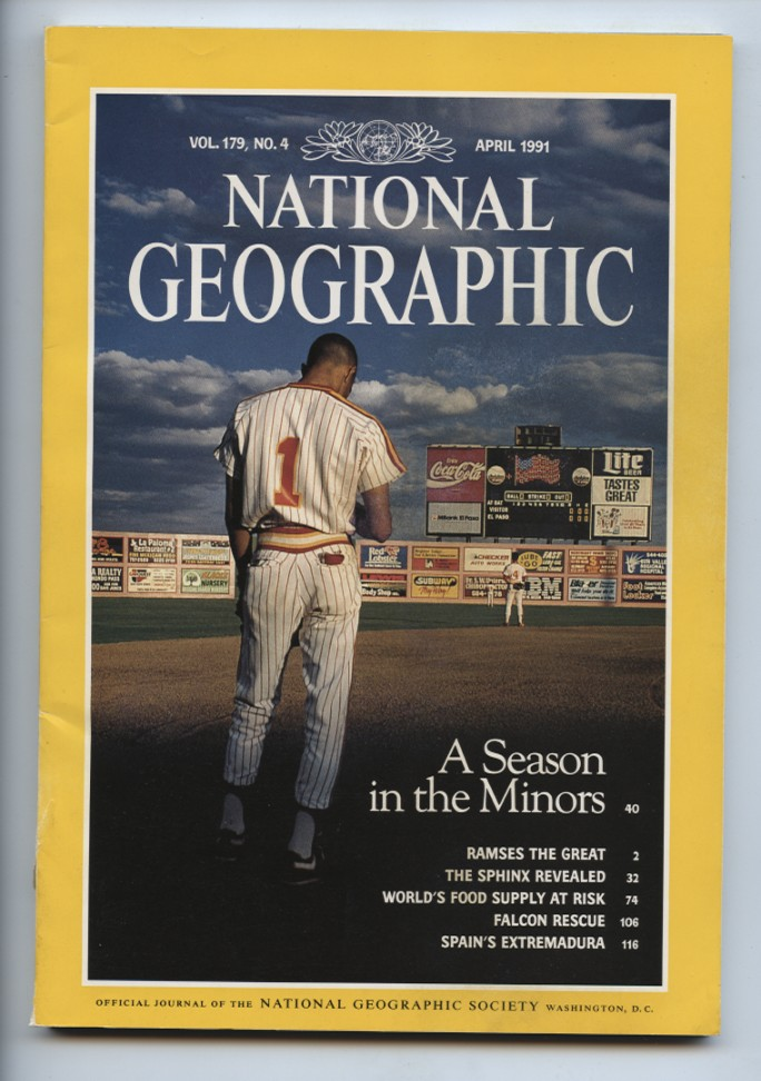 National Geographic Magazine April 1991