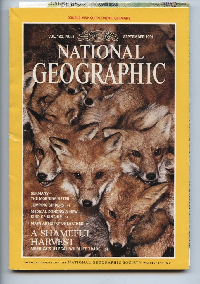 National Geographic Magazine September 1991