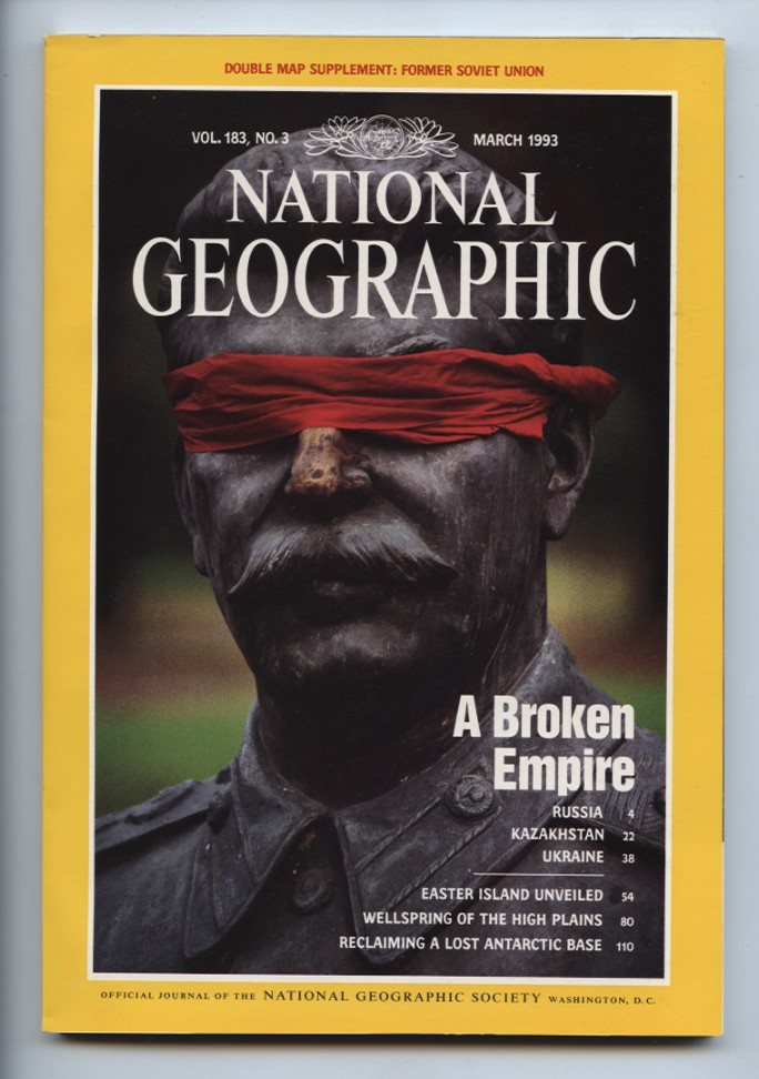 National Geographic Magazine March 1993