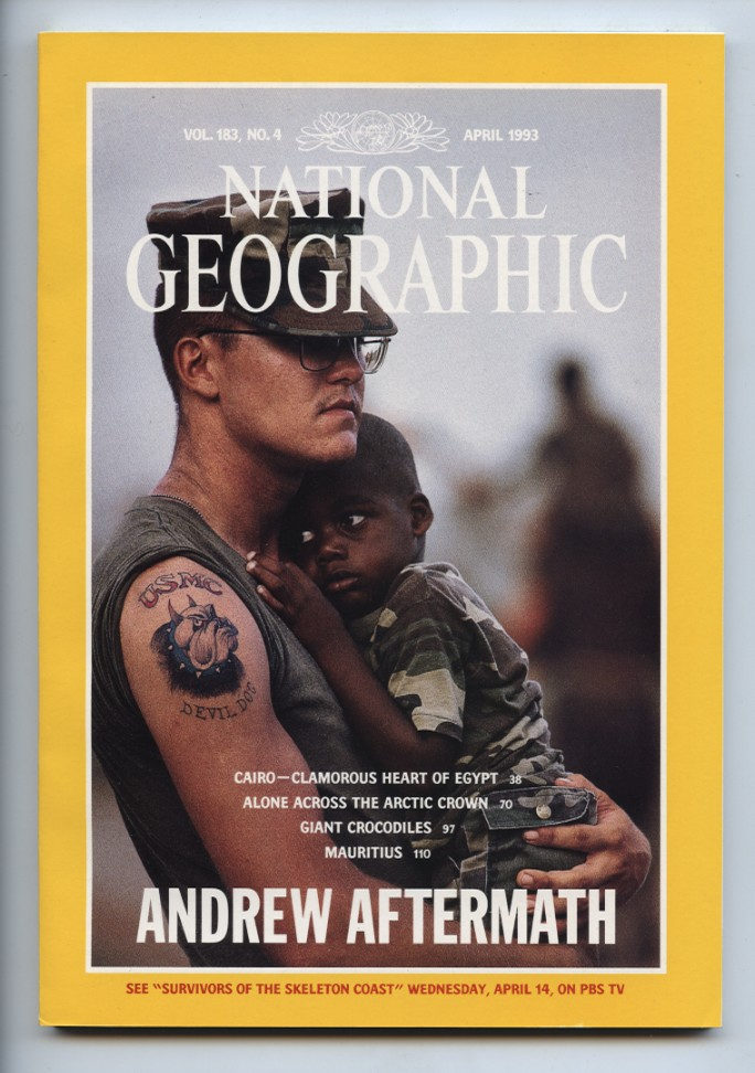 National Geographic Magazine April 1993