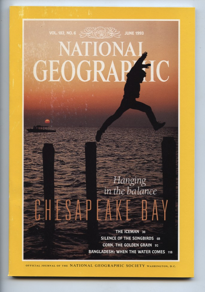 National Geographic Magazine June 1993