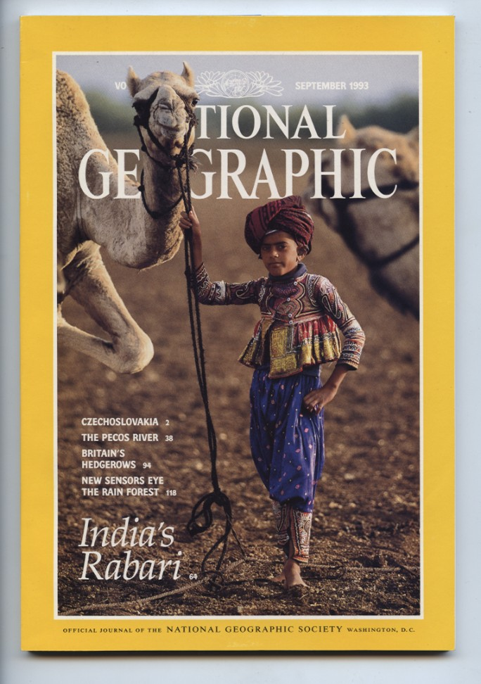National Geographic Magazine September 1993