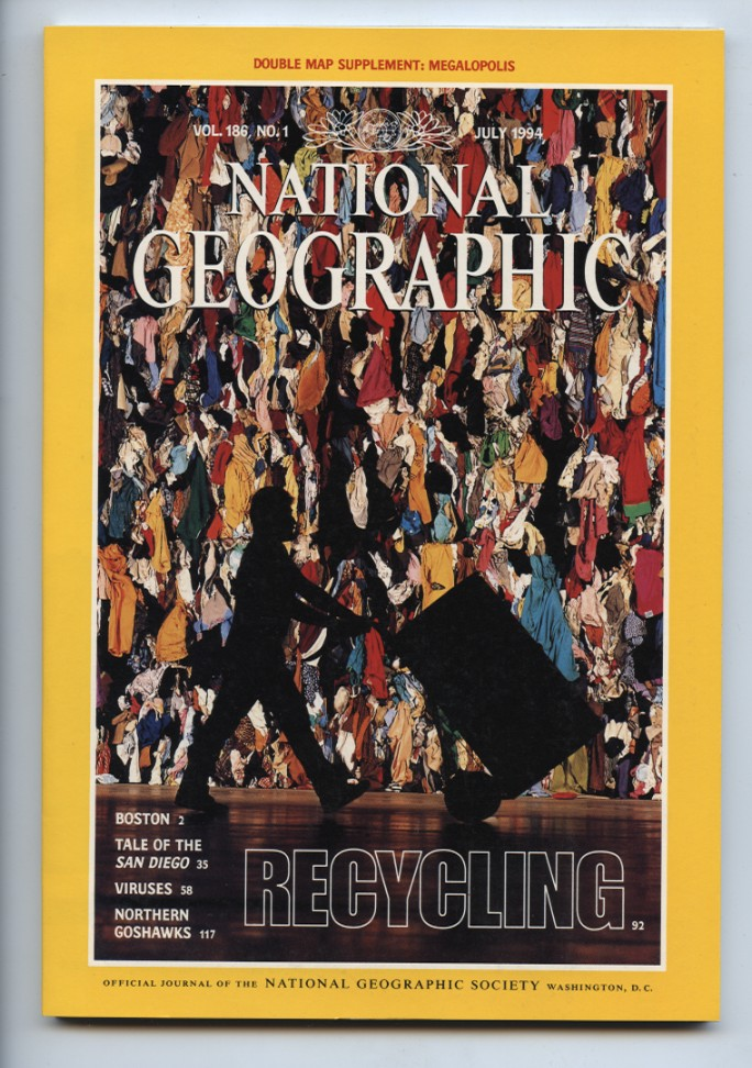 National Geographic Magazine July 1994