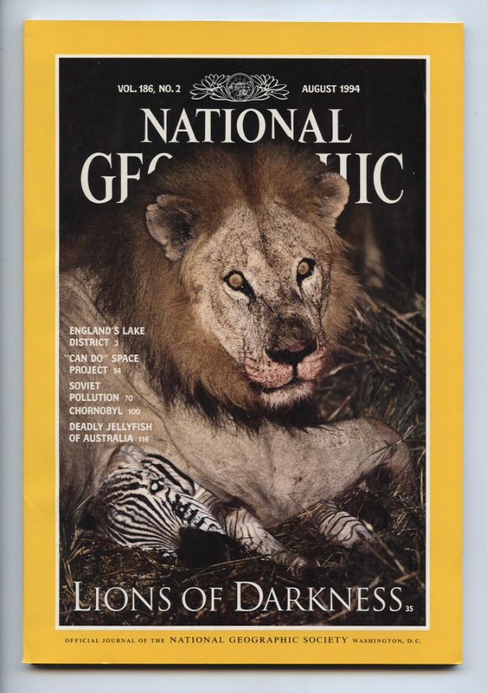 National Geographic Magazine August 1994