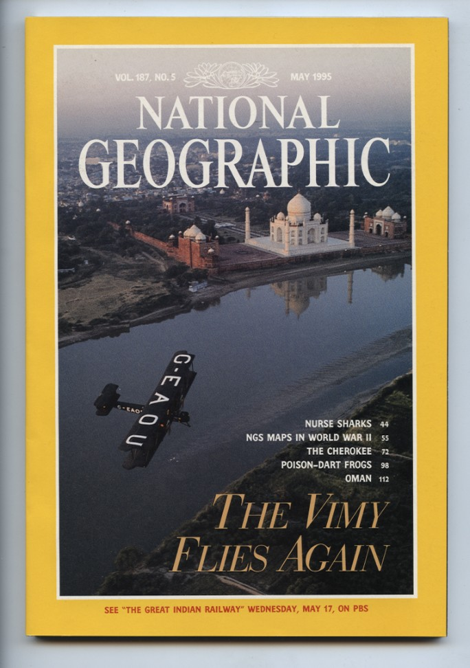 National Geographic Magazine May 1995