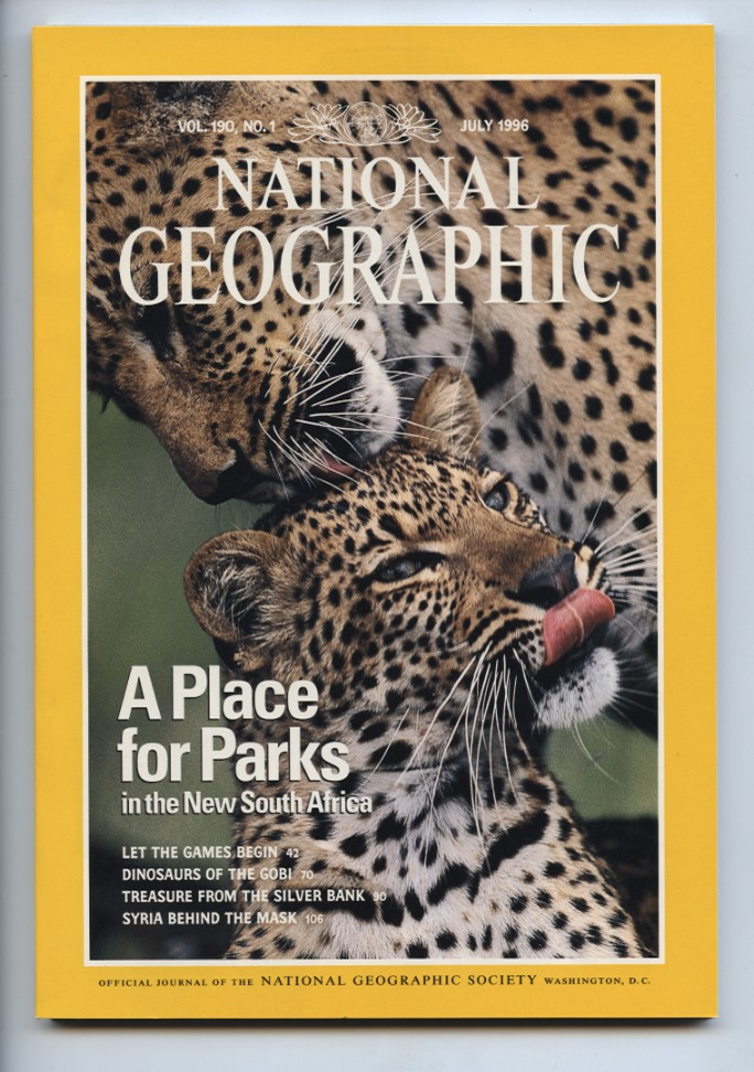 National Geographic Magazine July 1996