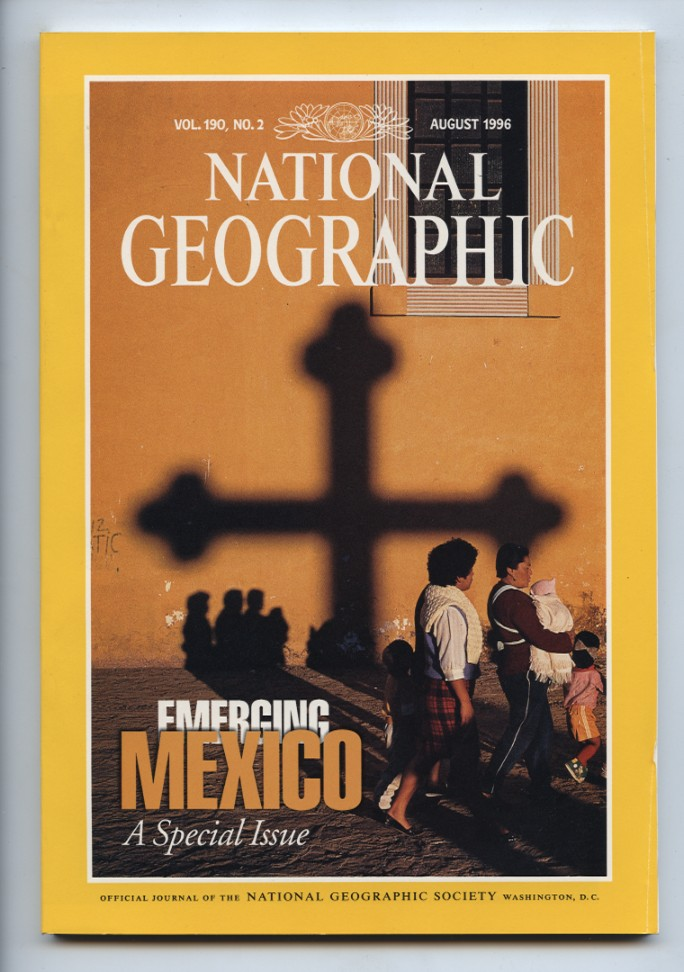 National Geographic Magazine August 1996