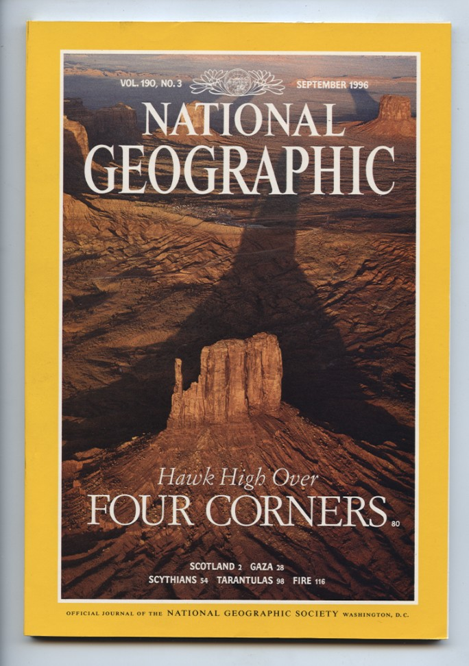 National Geographic Magazine September 1996