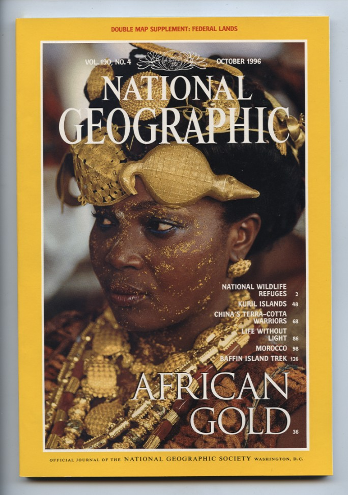National Geographic Magazine October 1996